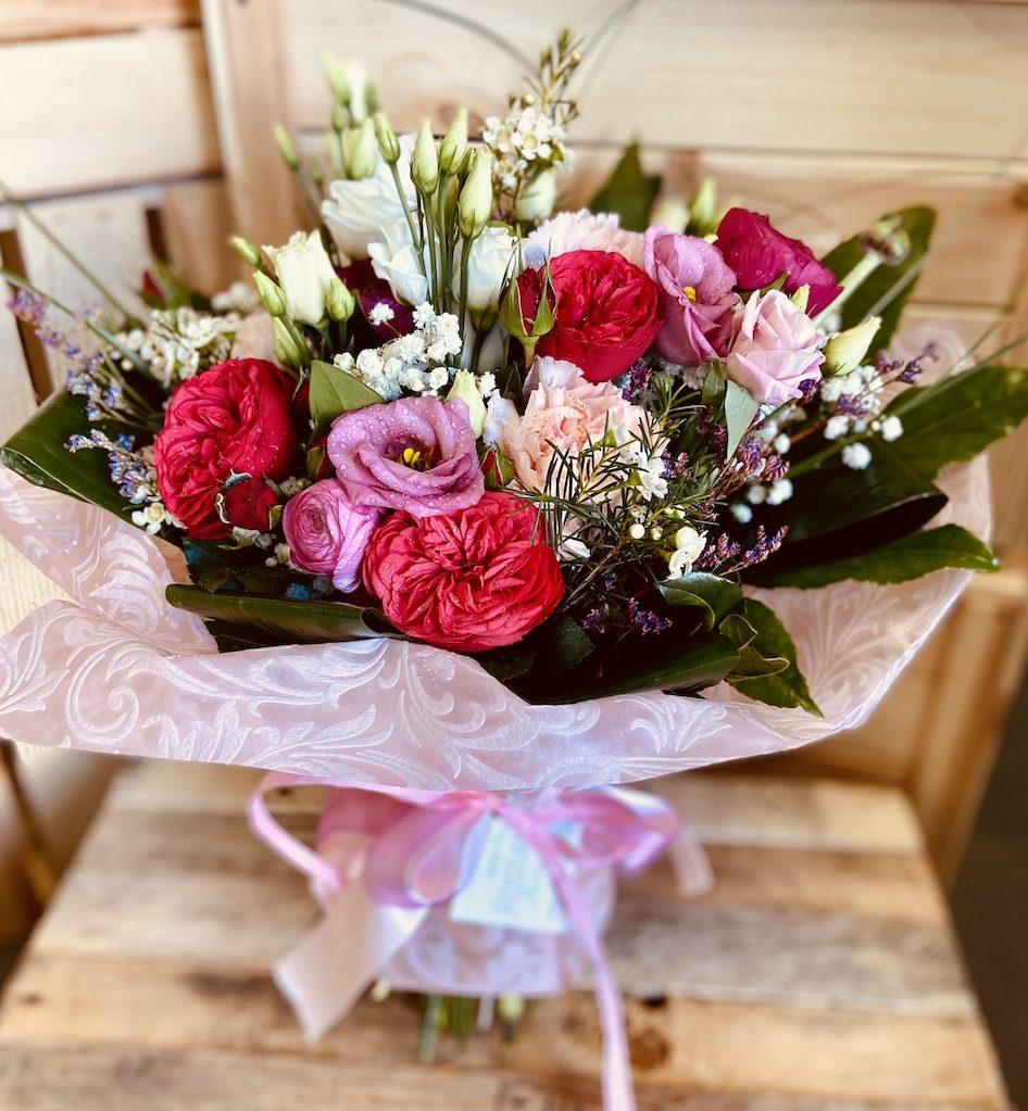 Rossana flower bouquet e flower boxIMG_1883