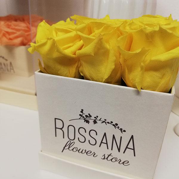 wedding flower box Bouquet Rossana Flower store fiorista fioraio Cassano Magnago negozio