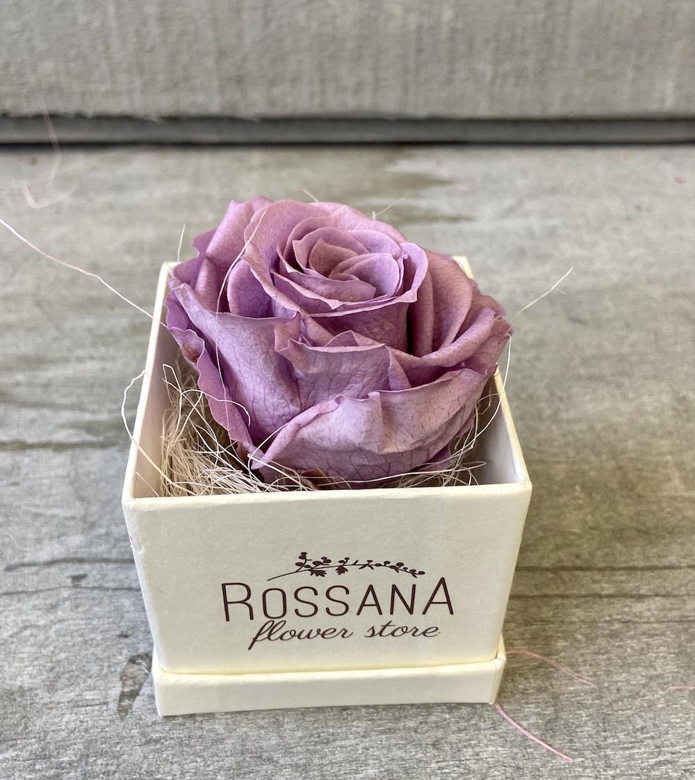 flower box rose stabilizzate lilla florashopping Rossana flower store NovellinoIMG_0973