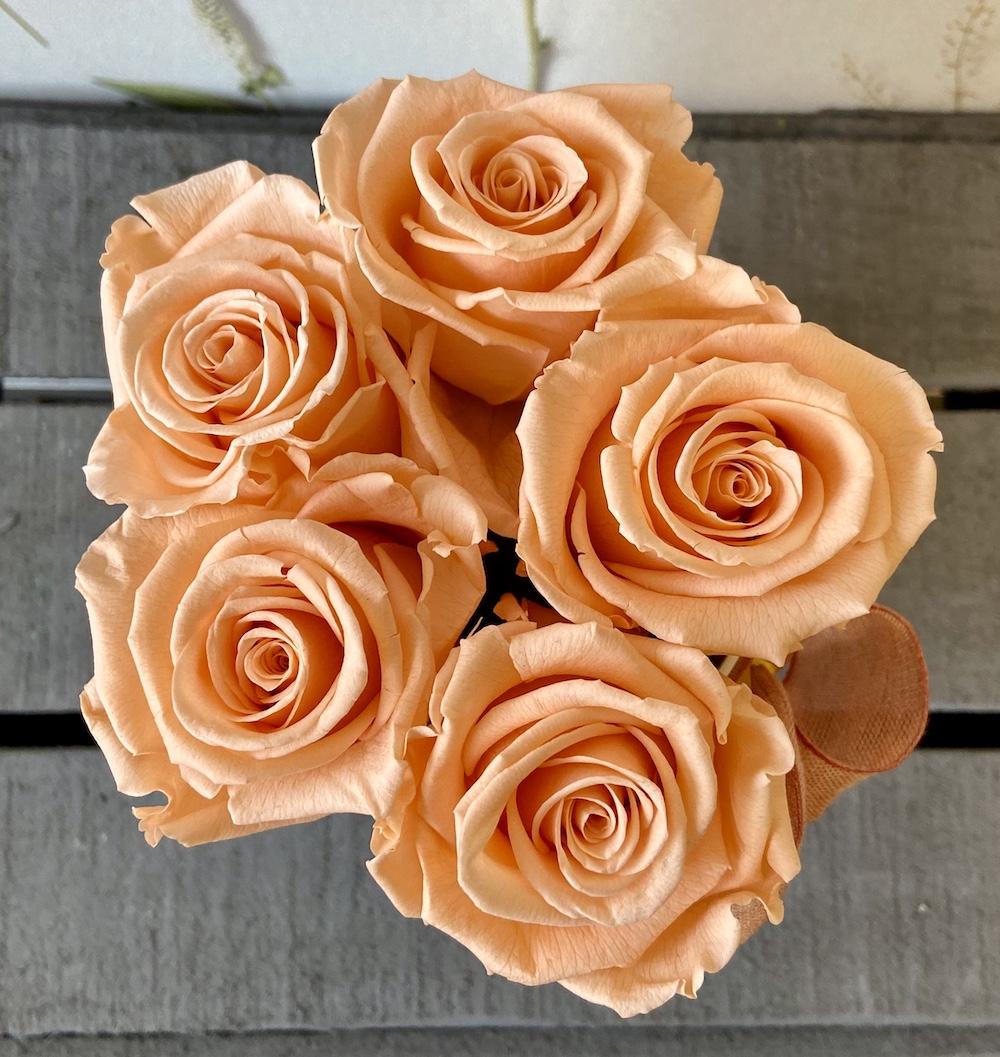 flower box rose stabilizzate pesca florashopping Rossana flower store NovellinoIMG_0269