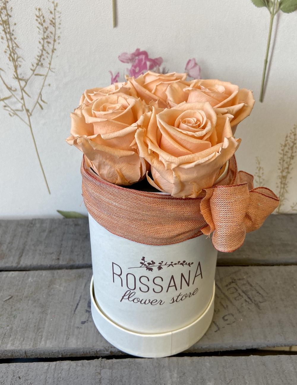 flower box rose stabilizzate pesca florashopping Rossana flower store NovellinoIMG_0271