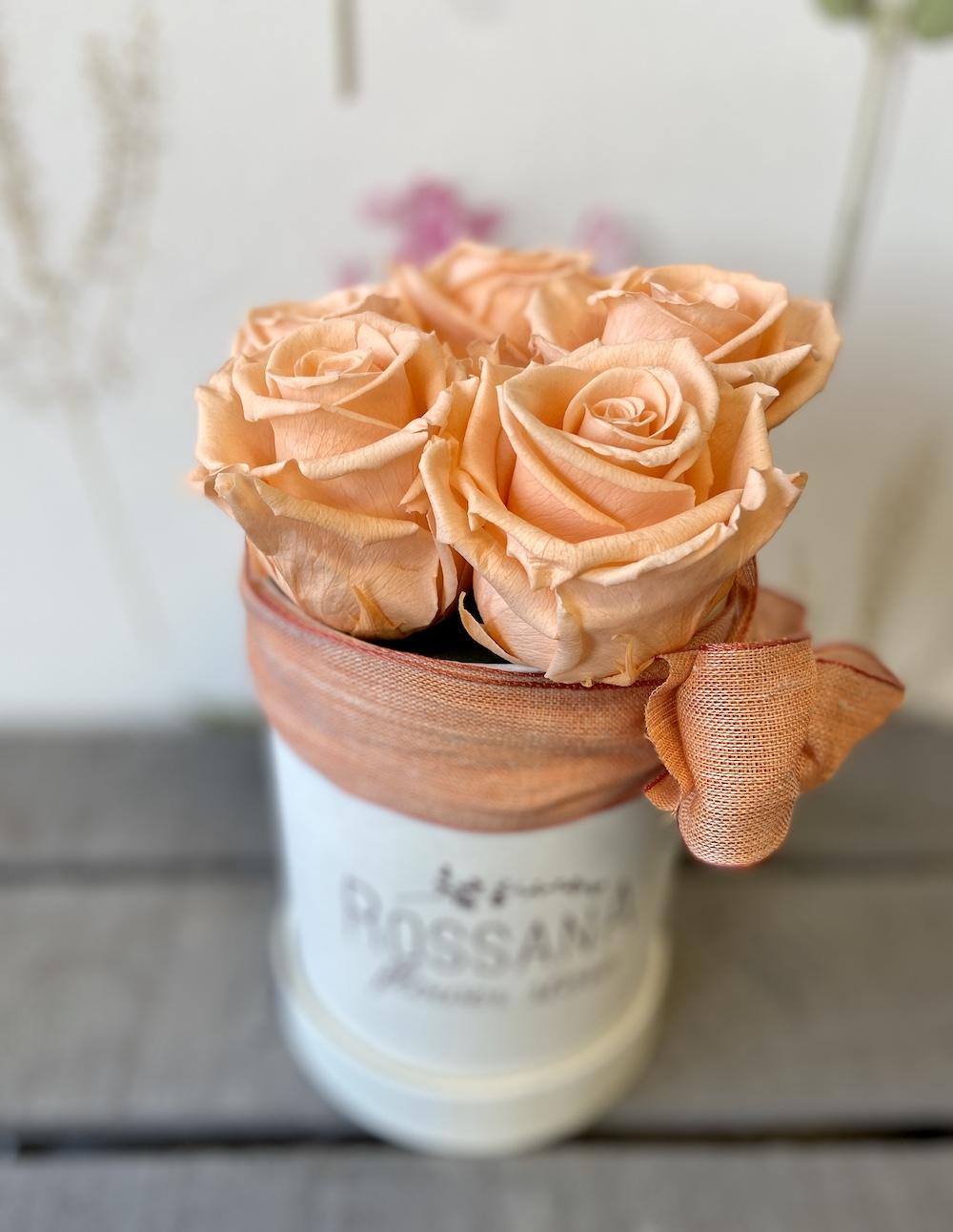 flower box rose stabilizzate pesca florashopping Rossana flower store NovellinoIMG_0275