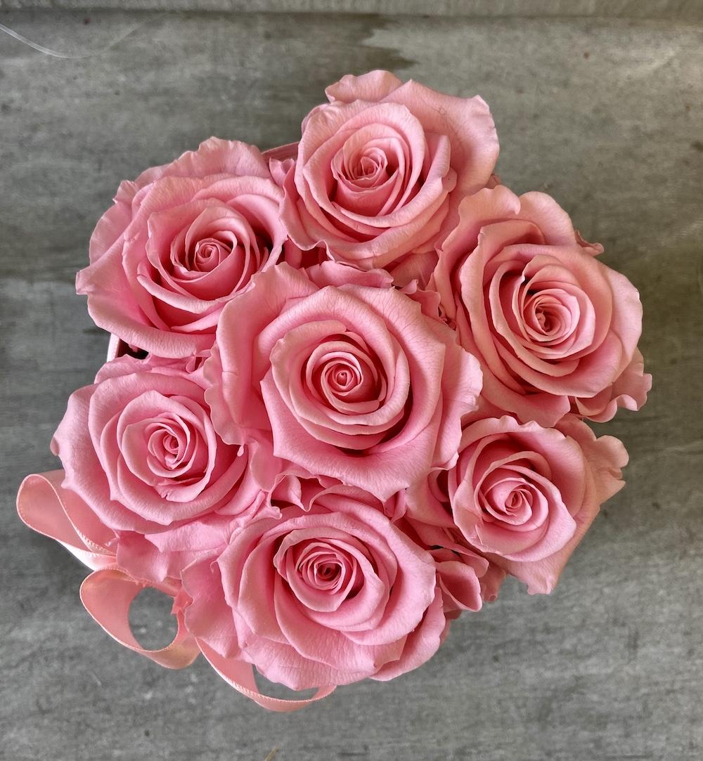 flower box rose stabilizzate rosa florashopping Rossana flower store NovellinoIMG_0895