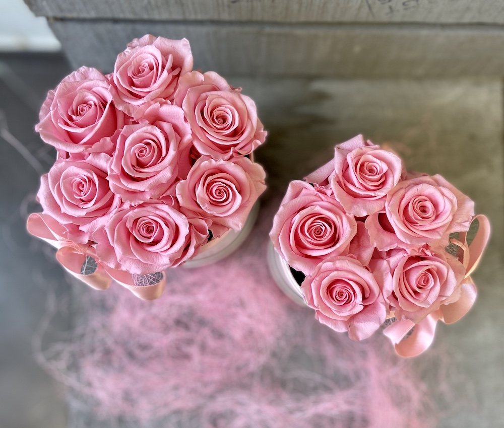 flower box rose stabilizzate rosa florashopping Rossana flower store NovellinoIMG_0921