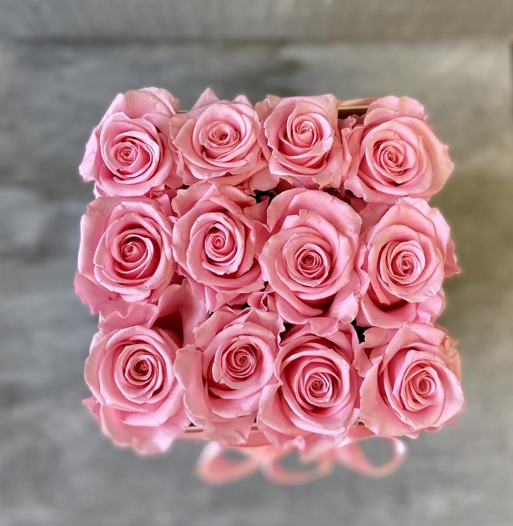 flower box rose stabilizzate rosa florashopping Rossana flower store NovellinoIMG_0926