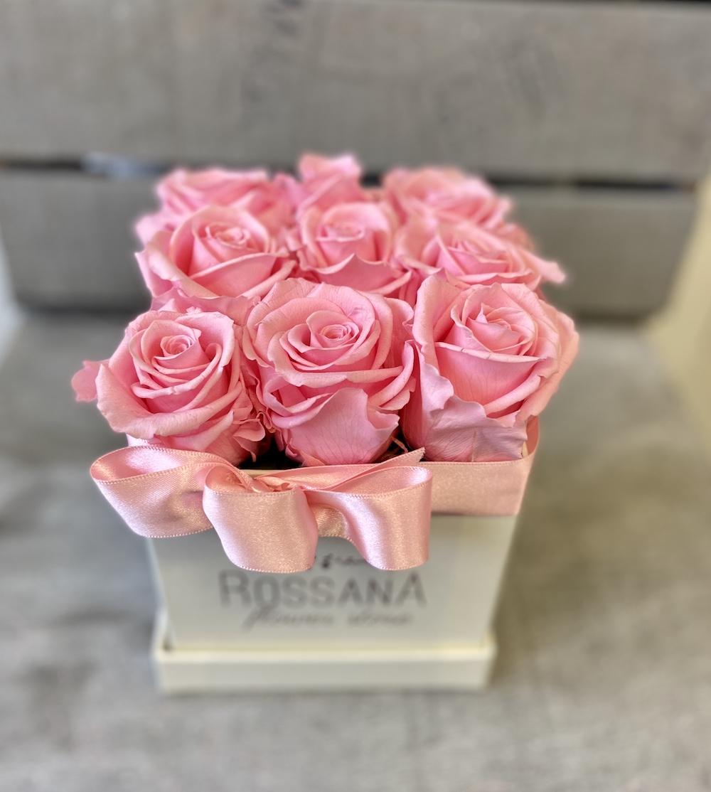 flower box rose stabilizzate rosa florashopping Rossana flower store NovellinoIMG_0940