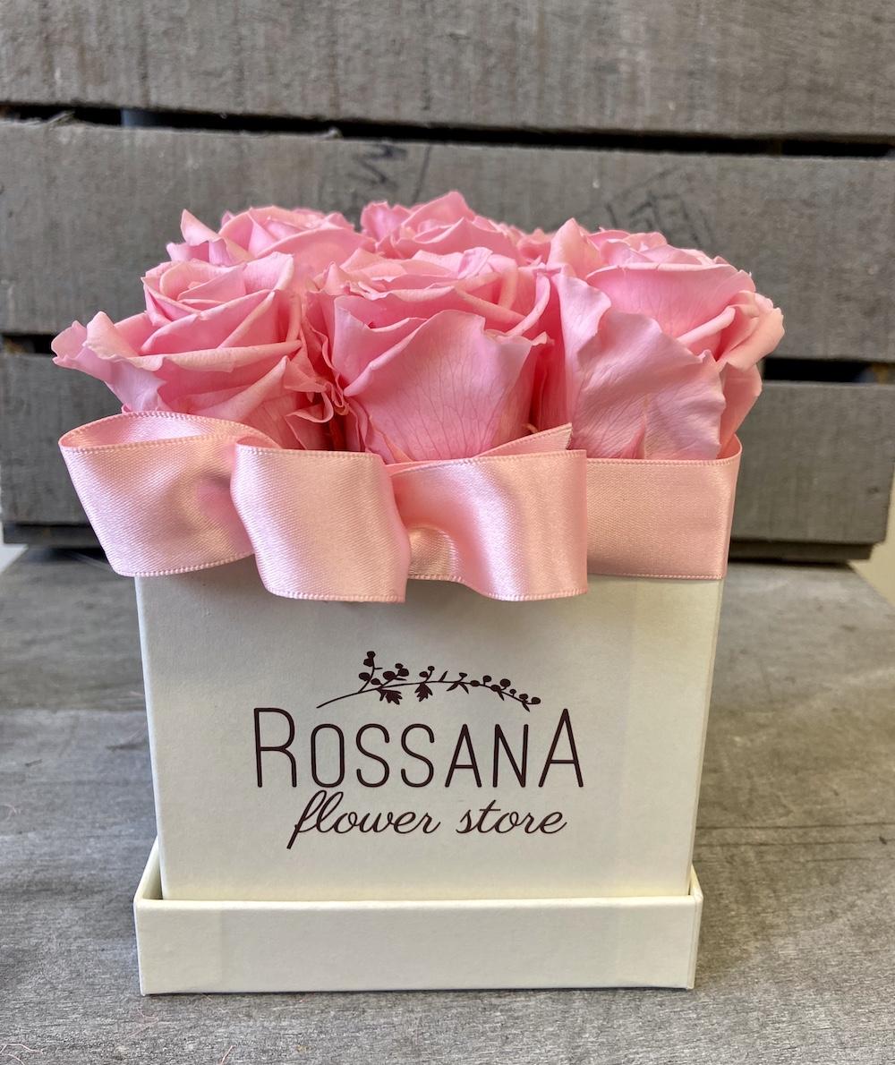 flower box rose stabilizzate rosa florashopping Rossana flower store NovellinoIMG_0942
