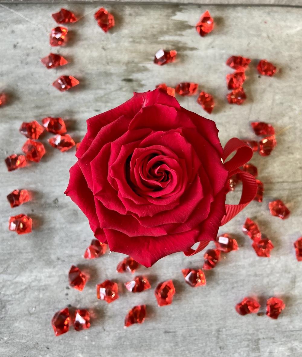 flower box rose stabilizzate rosso florashopping Rossana flower store NovellinoIMG_0571