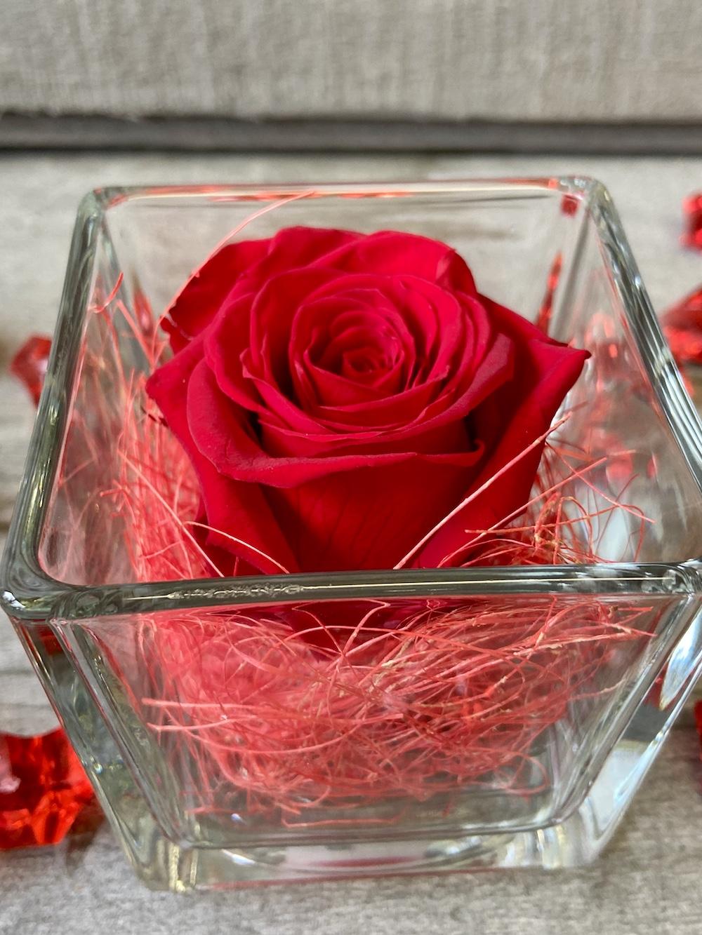 flower box rose stabilizzate rosso florashopping Rossana flower store NovellinoIMG_0600