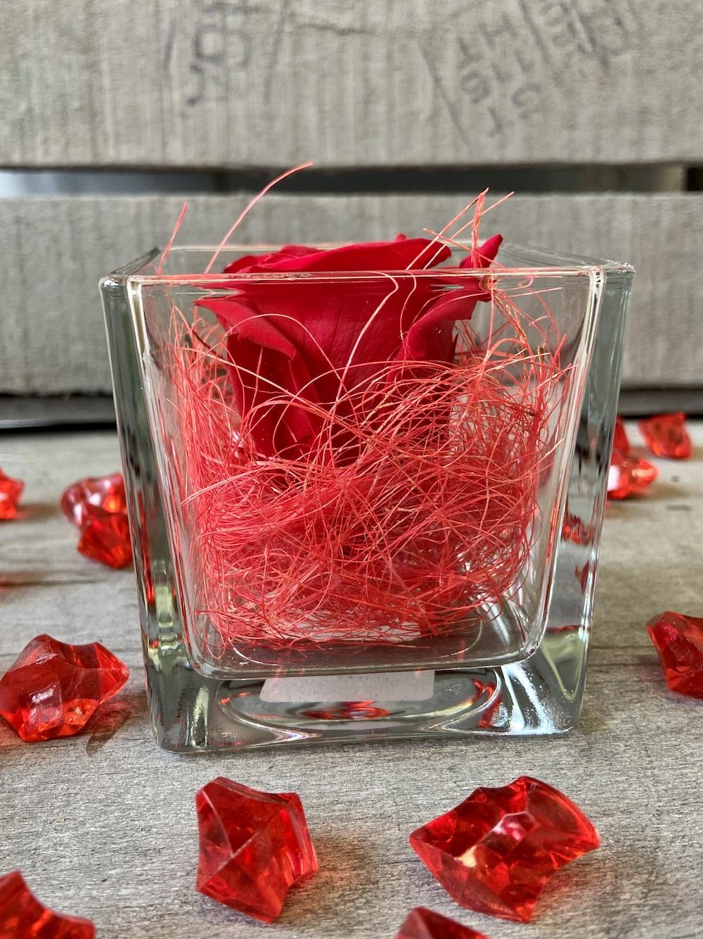 flower box rose stabilizzate rosso florashopping Rossana flower store NovellinoIMG_0601