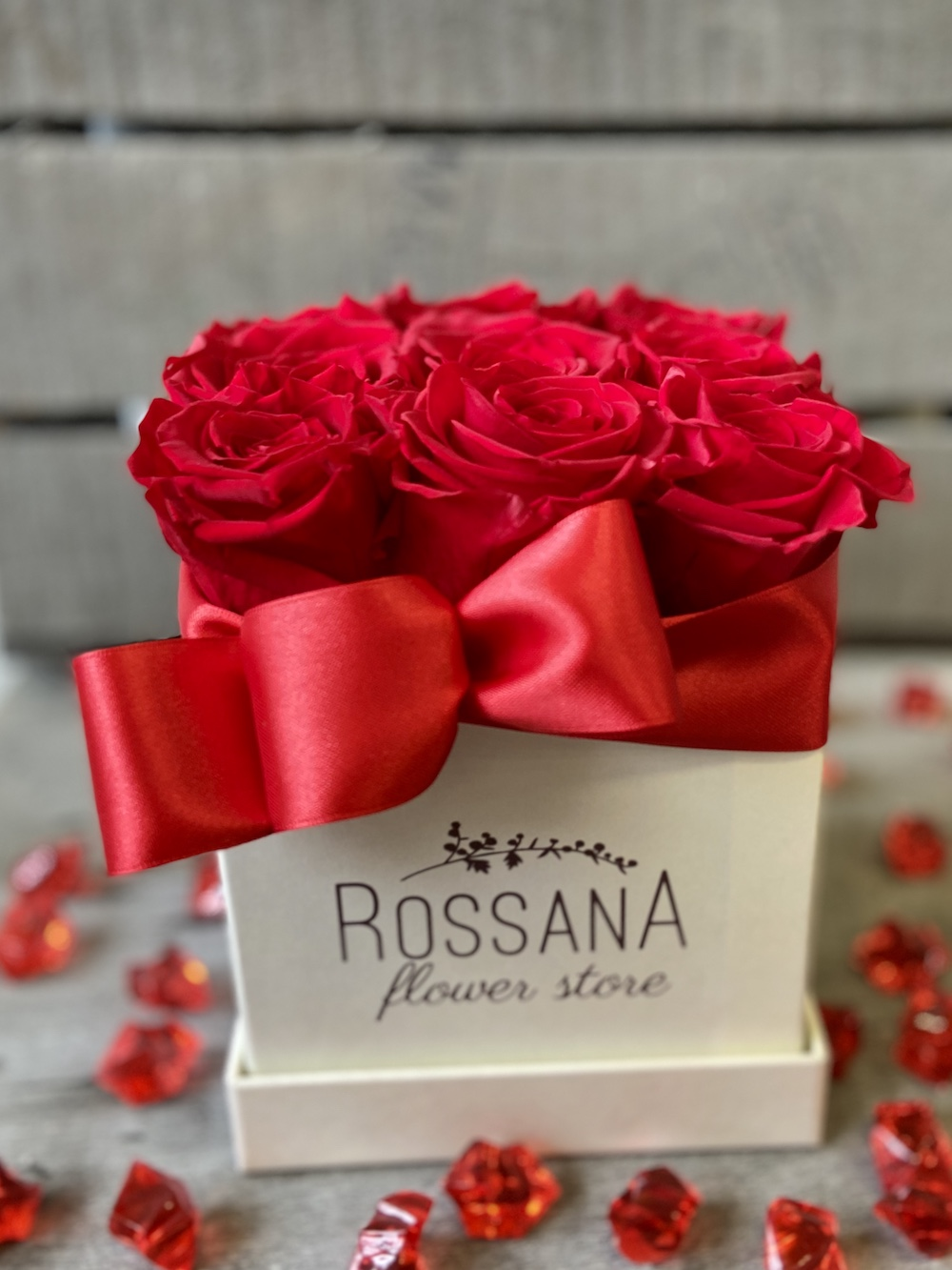 flower box rose stabilizzate rosso florashopping Rossana flower store NovellinoIMG_0616