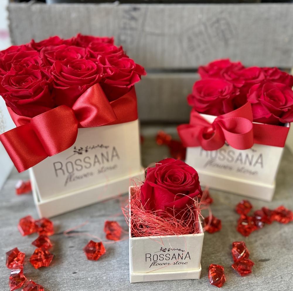 flower box rose stabilizzate rosso florashopping Rossana flower store NovellinoIMG_0620