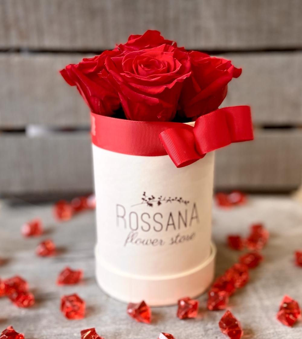 flower box rose stabilizzate rosso florashopping Rossana flower store NovellinoIMG_0626