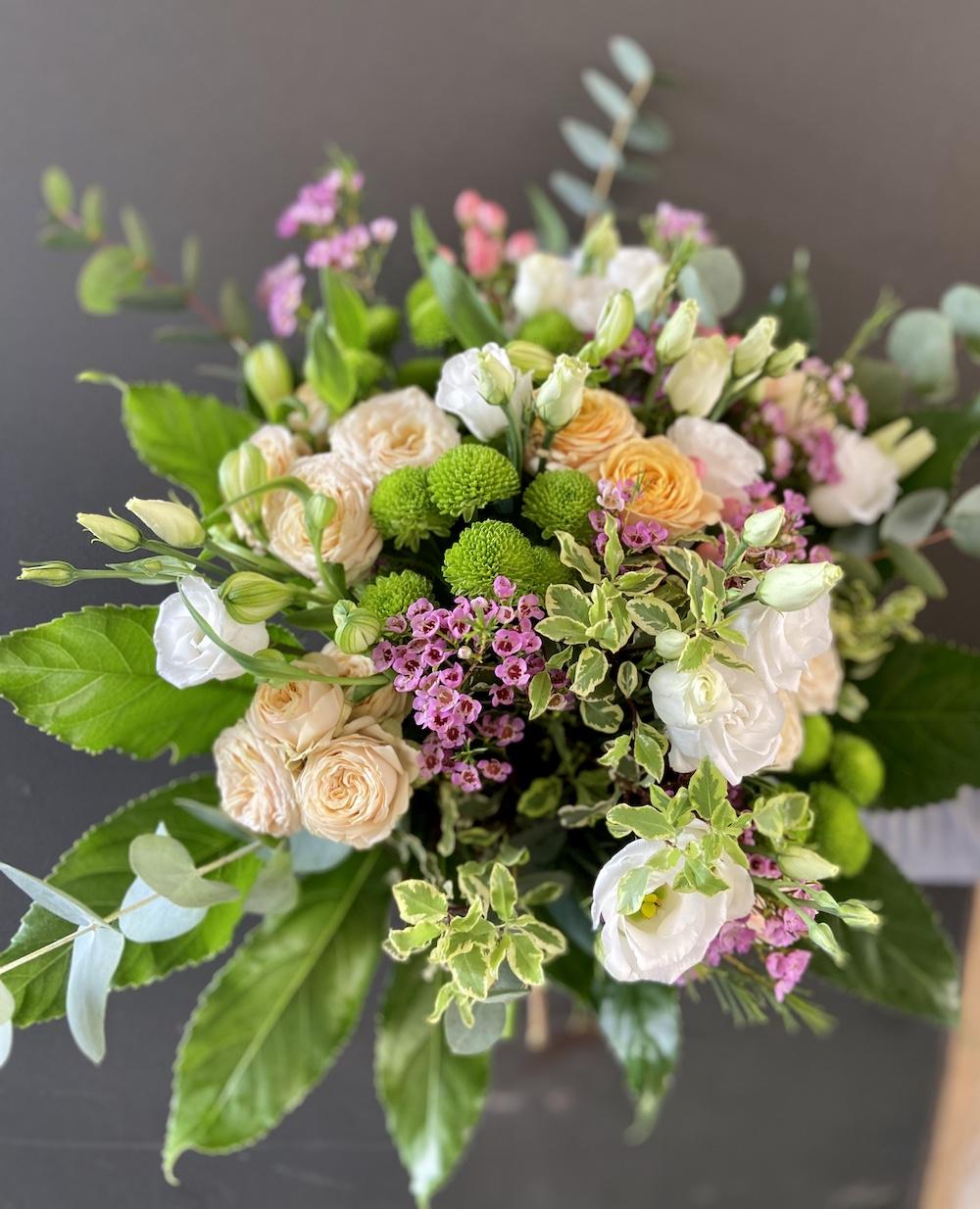Rossana flower bouquet e flower boxIMG_2341