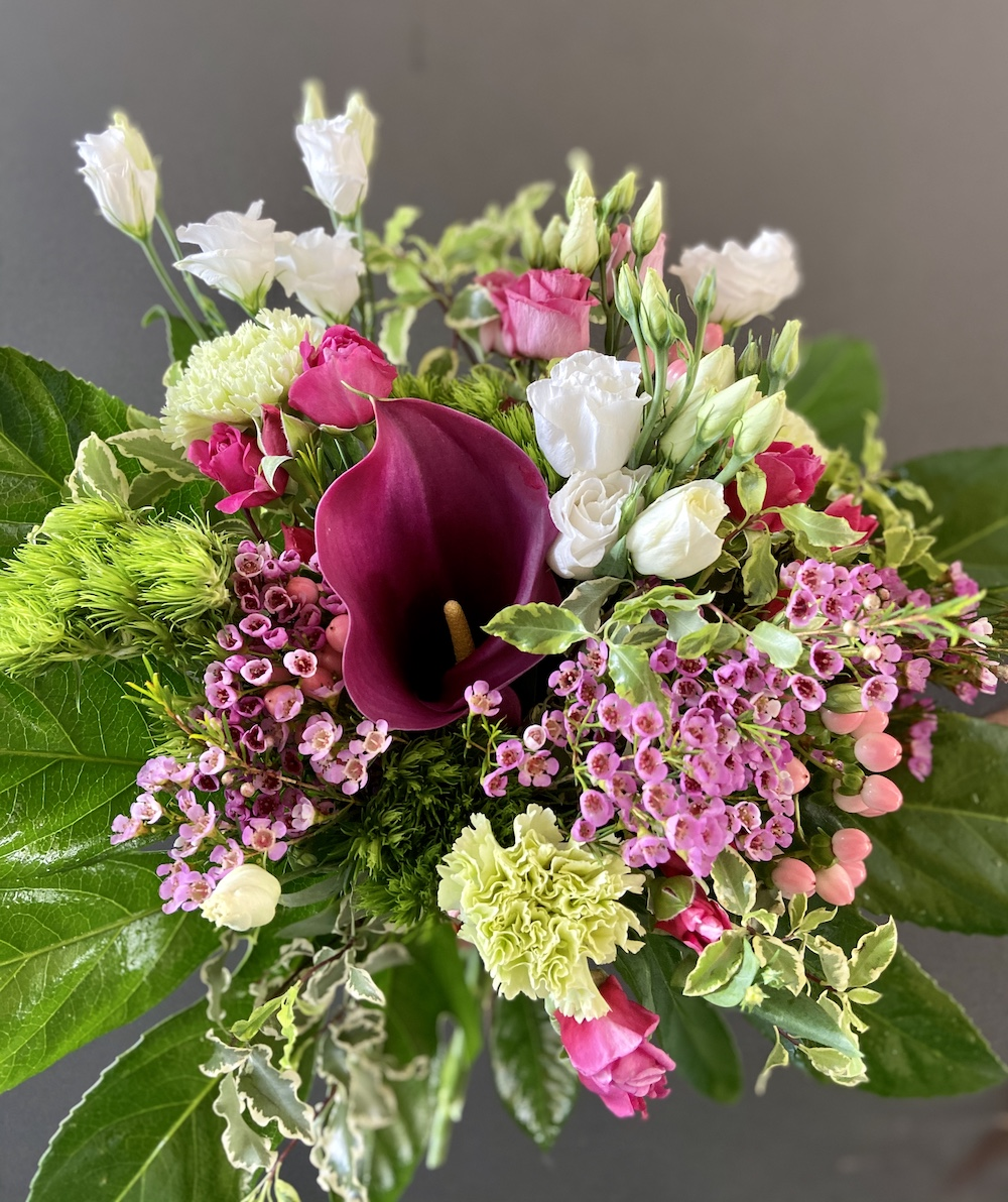 Rossana flower bouquet e flower boxIMG_2342