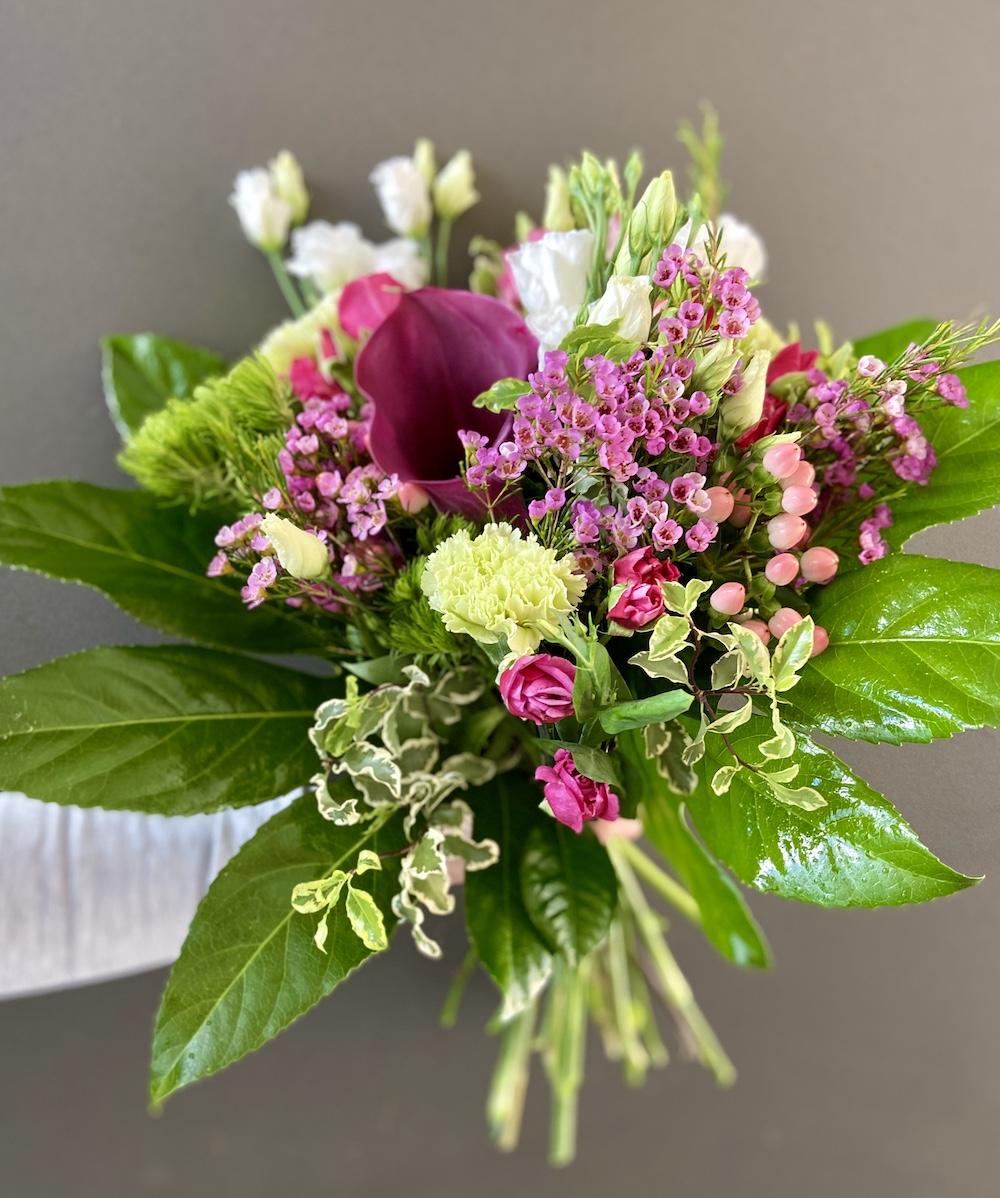 Rossana flower bouquet e flower boxIMG_2346