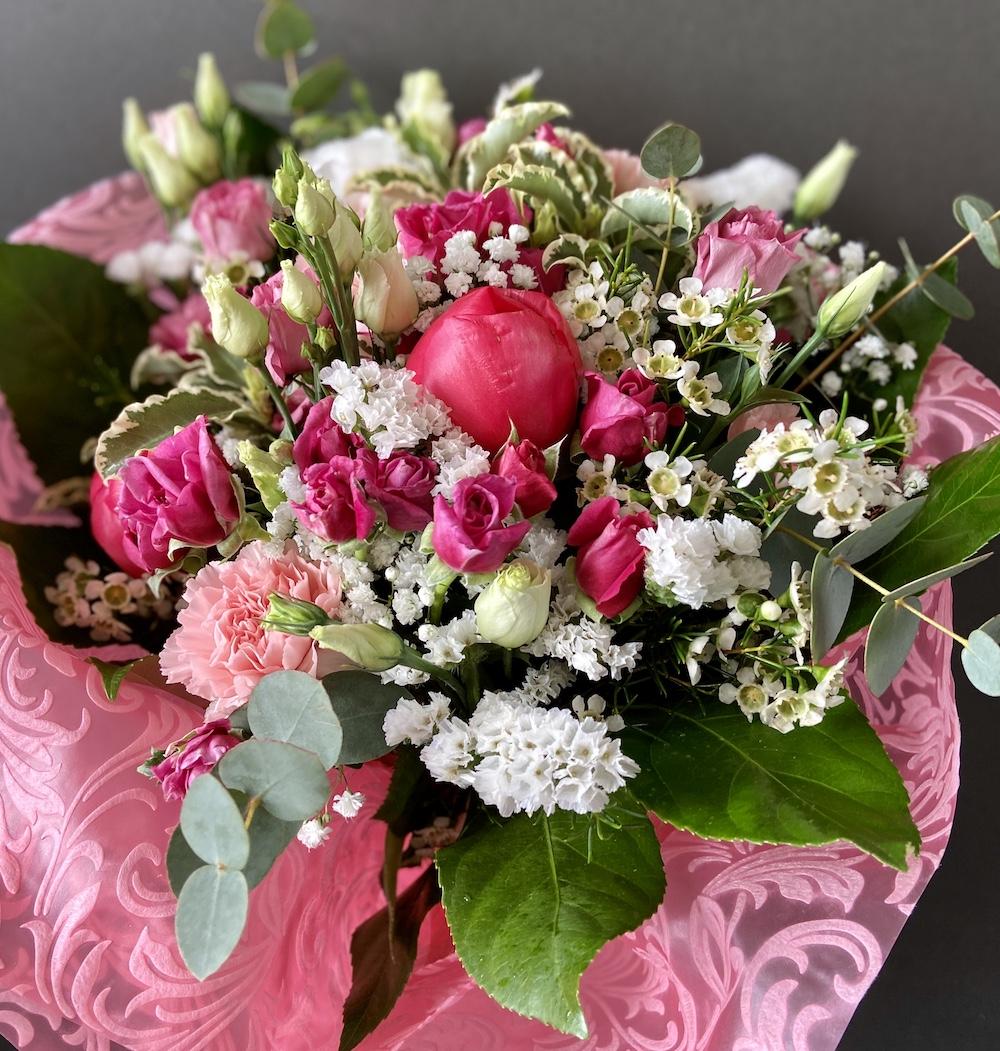 Rossana flower bouquet e flower boxIMG_2362